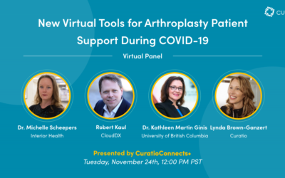 New Virtual Tools for Arthroplasty Patient Support During COVID-19